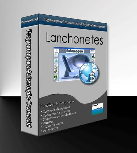 Programa Para Lanchonetes