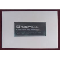 Digidesign 003 Factory Bundle C/ Ilok Plug-ins P/ Pro Tools