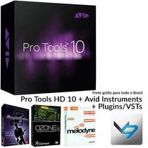 Pro Tools Hd 10+ Instrument
