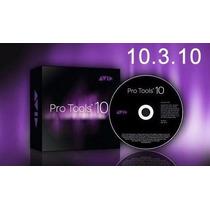 Pro Tools Hd10.3.10 Para Mac + Waves V9 Compl + Frete Gratis