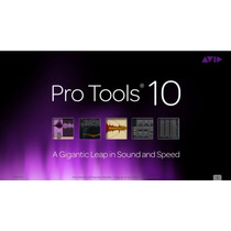 Pro Tools 10 Hd Win/mac + Waves 9 R27 Win/mac