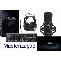 Curso De Masterização Para Nuendo Cubase Sonar Pro Tools Etc
