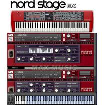 Sample Lead Nord Stage Para Kontakt + Timbres Pianos Brinde