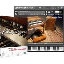 Samples Organs Kontakt - Vintage Organs + 200 Timbres
