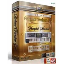 Samples Roland G6 Para Kontakt + De 1600 Timbres Divididos