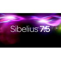 Sibelius 7.5.1 Com Livraria Completa Original Win E Mac 50gb