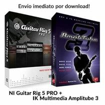 Ik Multimedia Amplitube 3.14 + Guitar Rig 5.2 Pro