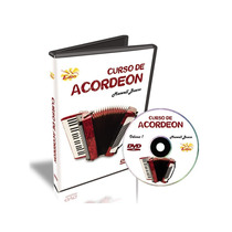 Curso Dvd Video Aula Acordeon Iniciante Maxwell Bueno Vol. 1