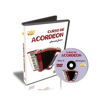 Curso Dvd Video Aula Acordeon Iniciante Maxwell Bueno Vol. 2