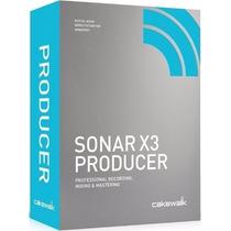 Sonar Producer X3 - 25,5 Gb + Melodyne
