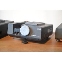 Projetor De Slides /retroprojetor Telão Filmes 16mm 8mm 32mm