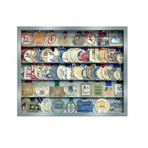 Portamedalhas Em Aço Prata( Quadro De Medalhas)para100meda