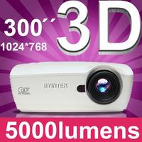 Projetor Full Hd 1080p Video Digital Data Show Dlp 5000lumin