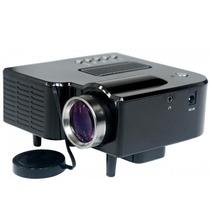 Mini Projetor Led 320x240 48 Lumens Usb/sd/a/v Bivolt Stereo