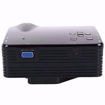 Mini Projetor Led Hd 1920x1080 Usb/sd/hdmi 100pol