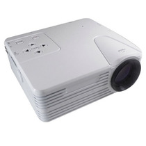 Projector Game Led Lcd Image System H-808 Branco