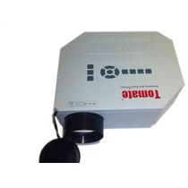 Projetor Portátil 200 Lumens Apresentação Video Game Hdmi Sd