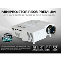 Mini Projetor Portátil Led - Usb/av/hdmi/vga