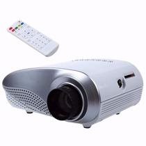 Mini Projetor Led 100 Pol 200 Lumens Hdmi Usb Sd Tv O Melhor