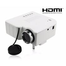 Projetor Data Show Hdmi Multimidia Mini Led Usb Sd Port -bn3