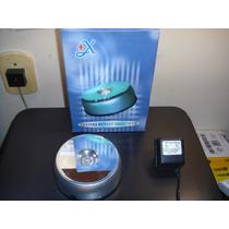 Mini Projetor De Luzes Crystal Rotary Slide Show Silver
