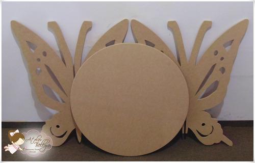 mesa jardim promocao:promoção – mesa provençal mdf cru desmontavel borboleta
