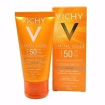 Capital Soleil Toque Seco Fps 50 Vichy 50g - Com Cor