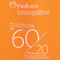 Loção Protetora Fps 60/fpuva 20 Fotoequilíbrio 200ml Natura