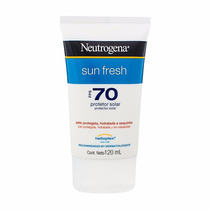 Protetor Solar Neutrogena Sun Fresh Fps 70 Corpo 120ml