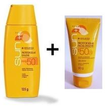 Avon Sun Protetor Solar Corporal Fps 50 + Facial Fps 50