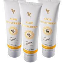 Kit Protetor Solar Aloe Sunscreen Forever