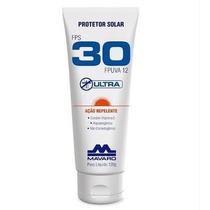 Protetor Solar Fator 30 Com Repelente De Insetos Dengue