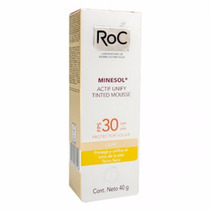 Minesol Actif Unify Tinted Mousse Light Fps 30