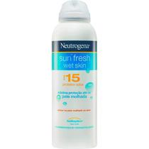 Protetor Solar Fps 15 Sun Fresh Wet Skin Neutrogena