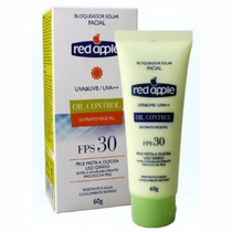 Protetor Solar Facial Red Apple Fps 30 Oil Control Uva + Uvb