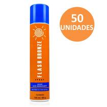 Flash Bronze Spray Kit Com 50 Unidades - Auto Bronzeador A J