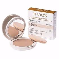 Filtro Solar Duo Cake Fps 55 Nude Adcos