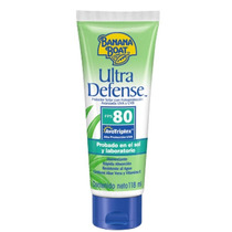 2 Un -banana Boat Ultra Defense-protetor Solar Fps 80 -118ml