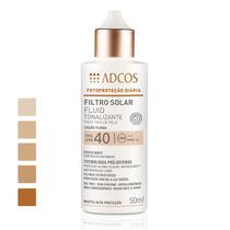 Filtro Solar Fluid Tonalizante Fps 40 Adcos 50ml - Campinas