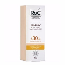Minesol Roc Actif Tinted Mousse Ligth Fps30 Roc 40g