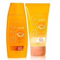 Super Kit Avon Sun + 360 Protetor Solar + Facial Fps50