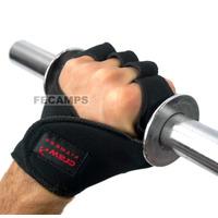 Luva Musculação Academia Palmar Neoprene 4mm Caleira