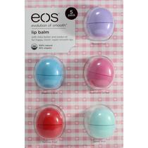Eos Lip Balm Protetor Labial Kit Com 5 - Promoção!!!