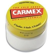 Carmex Lip Balm Original E Com Sabor Morango