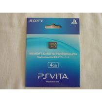 Ps Vita : Memory Card 4gb Original Sony Novo Lacrado
