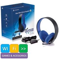 Fone Headset Stereo 7.1 Surround Ps4 Ps3 Psvita Pc Sony