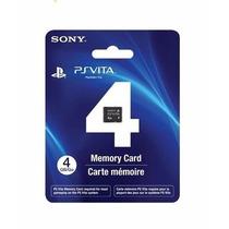 Cartão Memória 4 Gb Original Sony Ps Vita Novo & Lacrado