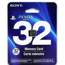 Novo Lacrado Cartão De Memória Sony 32 Gb Para Ps Vita