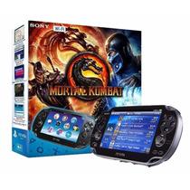 Ps Vita Com Mortal Kombat 4g Wi-fi Sony Psvita Garantia