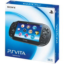 Ps Vita + Cartão Memória 8gb Playstation Vita Original Sony